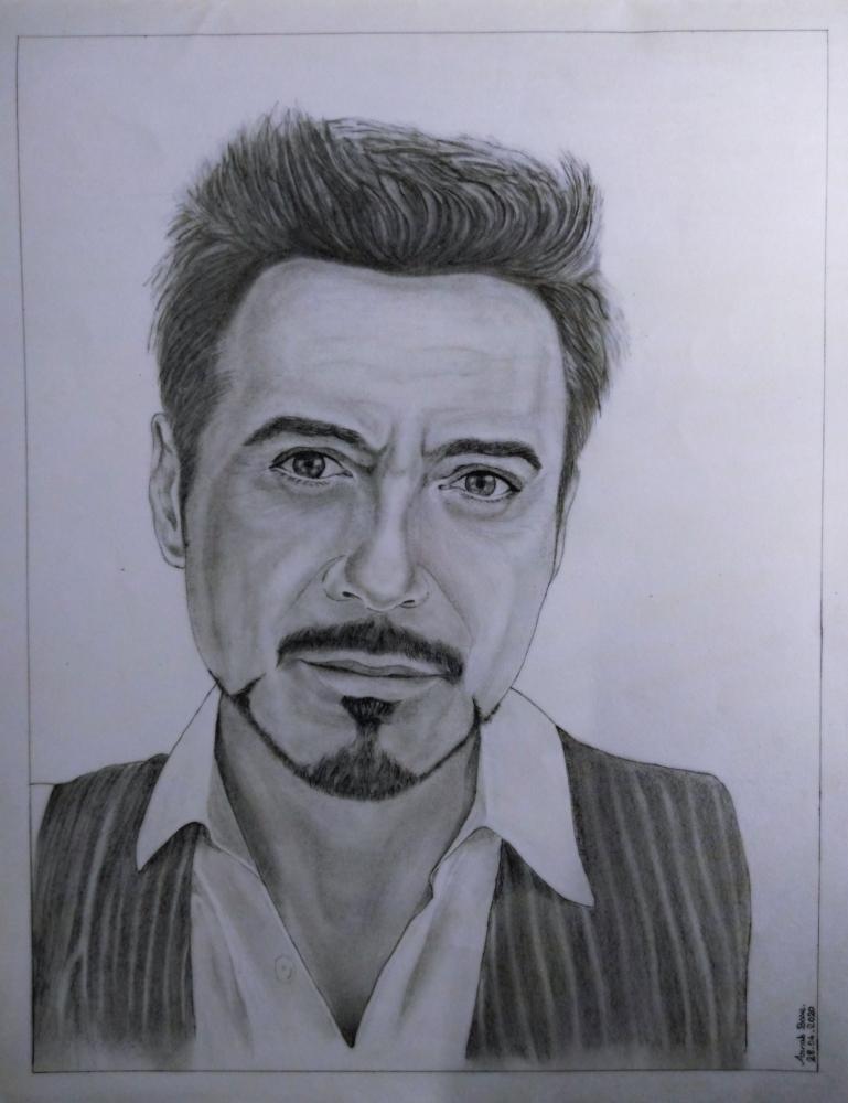 Robert Downey Jr por Arnab